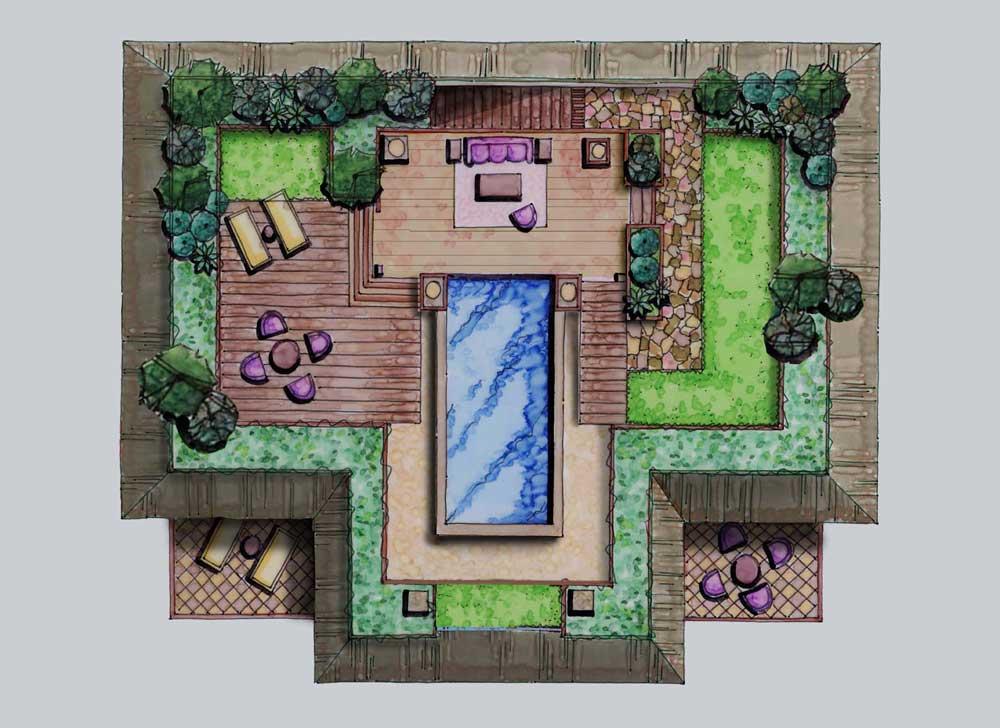 Roof Garden Floor Plan Elegant Building For The Future